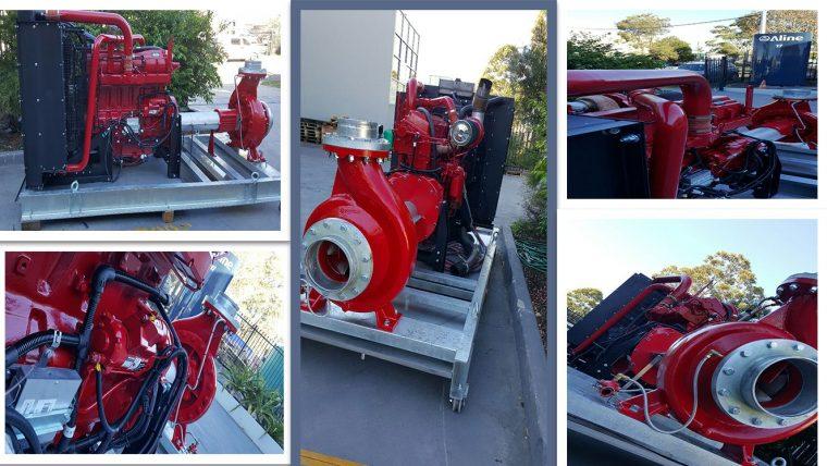 kiểm tra máy bơm chữa cháy diesel