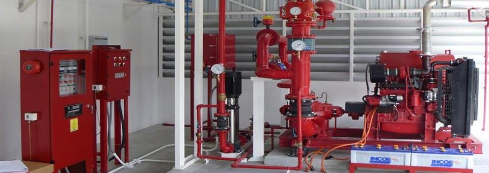 hệ thống máy bơm chữa cháy Ebara