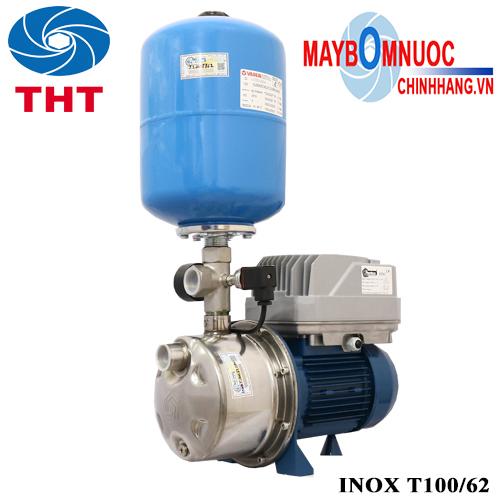 Bơm tăng áp Biến Tầng Pentax inox t100/62